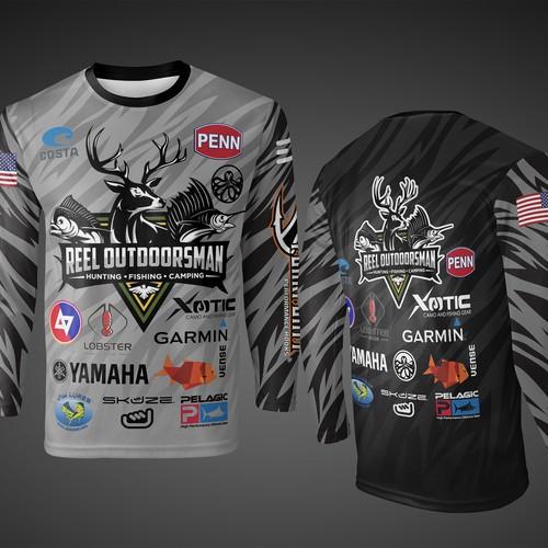 T-shirt Design for Reel Outdoorsman