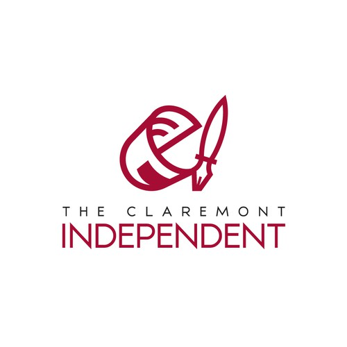 Design an exciting, modern logo for the Claremont Independent
