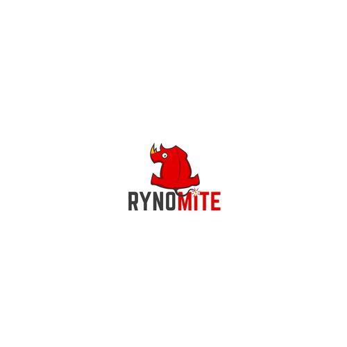 Logo design for RynoMite