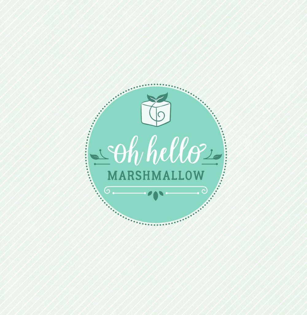 marshmallow script font feminine logo