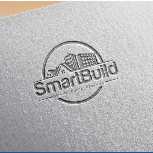 SmartBuild Logo Design