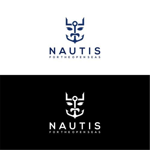 The design logo of Nautis