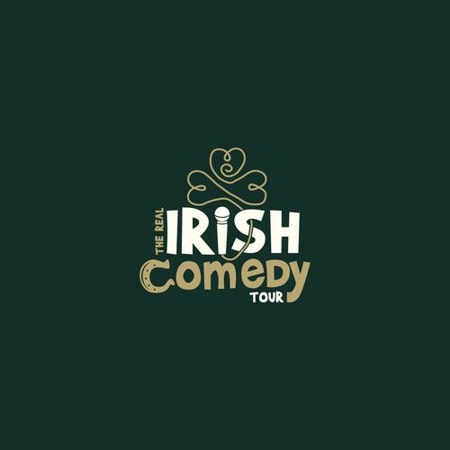 Logo for a comedy tour