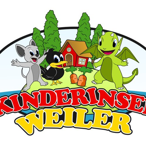 kindergarten school logo