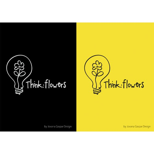 thinkflowers needs a new Logo Design