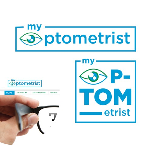 Bold Logo concept for Optometrist