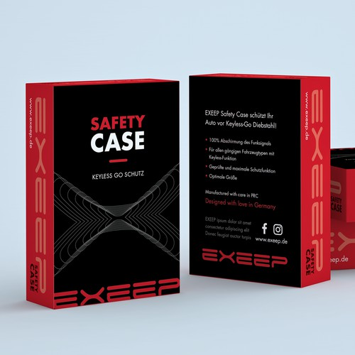 Packaging Safety Case