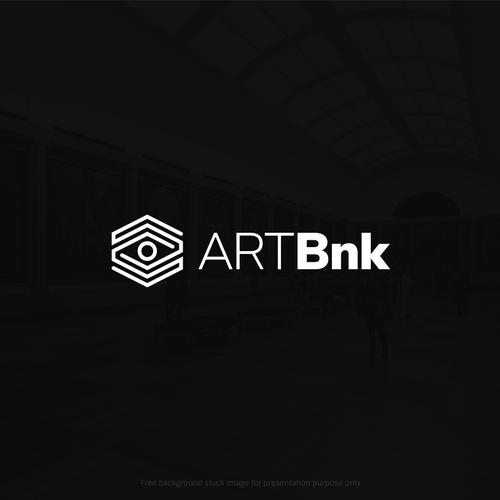 Modernist Logo for a Fine Art Portal