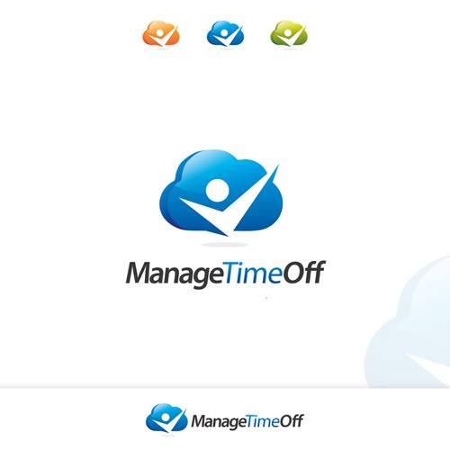 Help Manage Time Off with a new logo