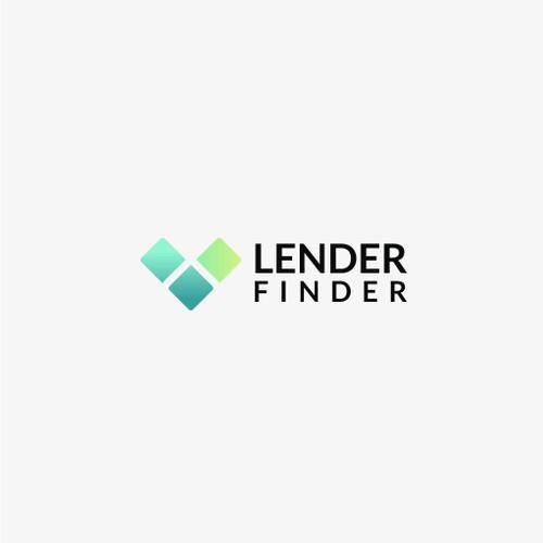 Simple logo design for LenderFinder