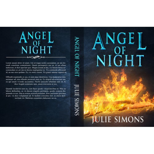 Book cover for Angel of night
