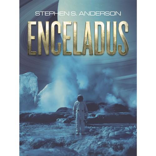 """Enceladus"" Book Cover"
