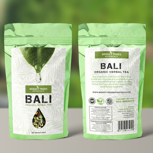 Bali Organic Herbal Tea