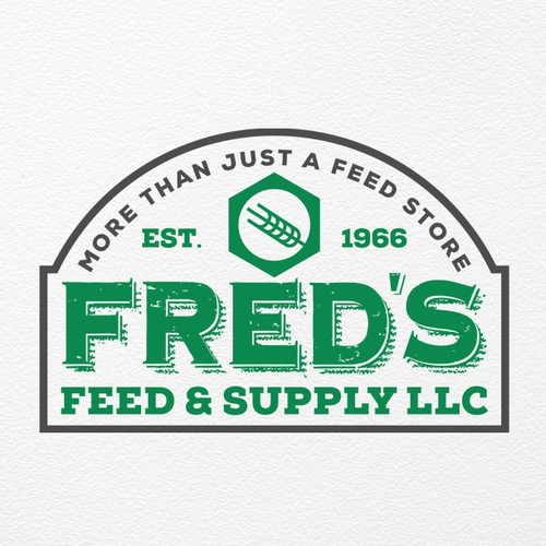 Logo for Fred's Feed & Supply