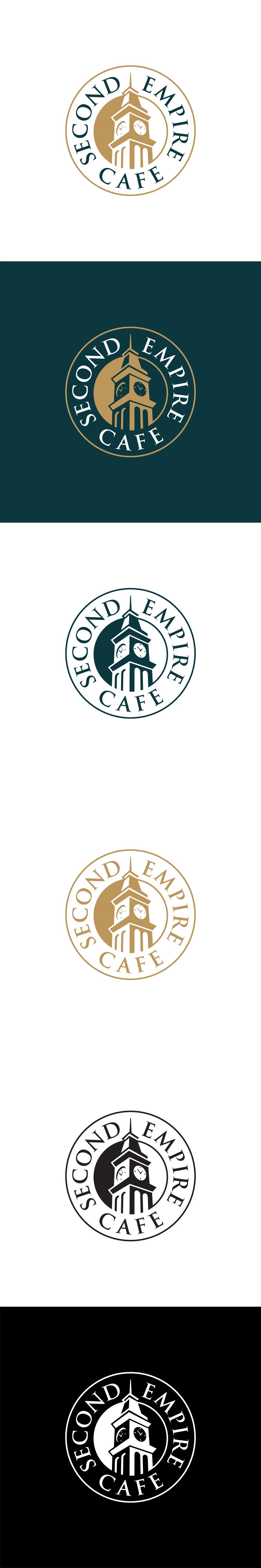 Second Empire Cafe Logo design