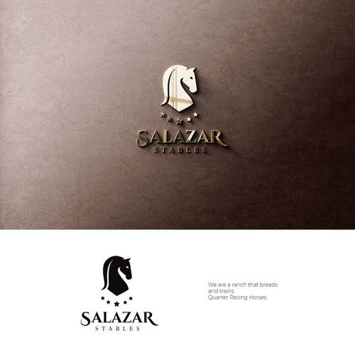 Logo design for Salazar Stables