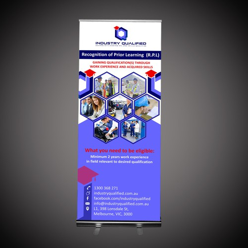 Create Trade Show Banner for Industry Qualified
