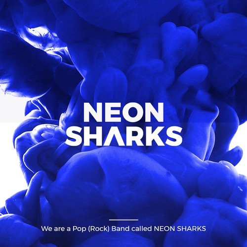 Pop Rock Band Neon Sharks
