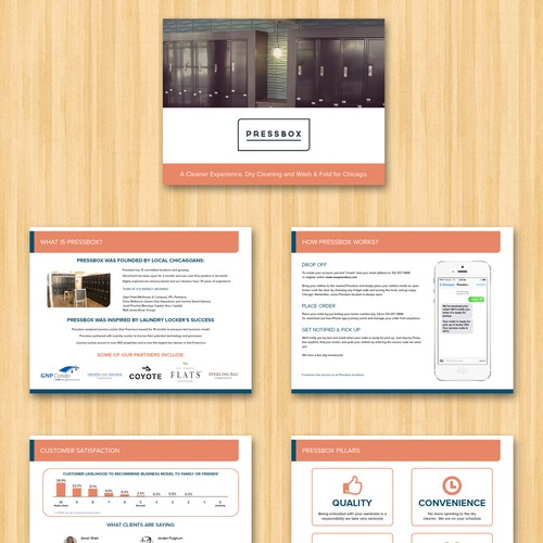 Powerpoint template for Pressbox