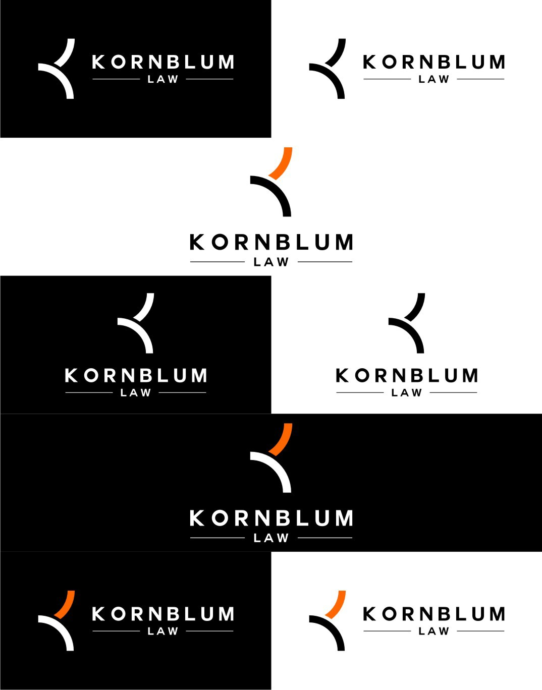 Kornblum Law needs a new logo